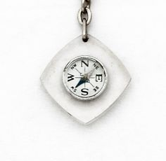 Vintage 1970s Compass Keychain / by TheCompassCollector on Etsy, €29.90