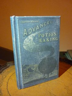 Advanced potion making..blank notebook