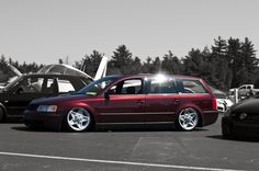 Slammed VW Passat Wagon | VWVortex.com - range rover wheels on a MK4 pic reguest