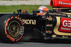 Malaysian GP 2013 - Sepang - Lotus F1 Team - Romain Grosjean - Free Practice with OZ wheel #OZRACING