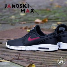 #nike #janoskimax #stefanjanoski  Nike Stefan Janoski Max - We've seen a lot of decent colorways appearing on the Janoski Max in the past few months, but this latest one is our new favorite. The new Nike Janoski Max has a dark, black suede upper that sits on a white midsole with the well-known Air bubble.  Now online available | Priced at 124.99 EU | Men Sizes 39 - 47.5 EU