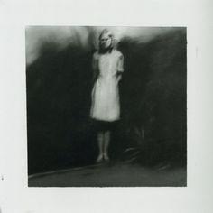 Girl in the Garden (1965) by Gerhard Richter - oil on...