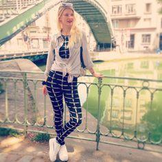 #look #asos #canal #canalsaintmartin #paris #blondgirl #mode #outfit #platformshoes #summer #style #stylehunter