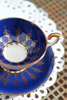 Delicate Aynsley china teacup