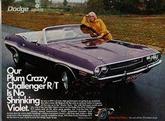 1970 Dodge Challenger RT Convertible - Plum Crazy   by coconv, via Flickr