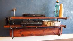 industrial living room shelf by witusik2000 on Etsy, $199.00