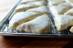 Lemon Rosemary Scones by The Pioneer Woman. I made these wonderfully delightful scones for my holiday cookbook as part of a big Mother's Day spread, but I knew the day I. The Pioneer Woman, Pioneer Woman Recipes, Pioneer Women, Scones Recipe Pioneer Woman, Vanilla Bean Scones, Lemon Scones, Raspberry Scones, Cream Scones, Cinnamon Scones