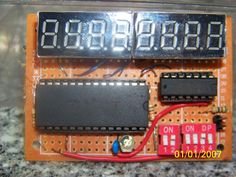 one board counter .36 display icm7216