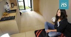 Pikkukodissa on kaikki, mitä tarvitaan: vessa ja suihku, lämmitys sekä mahdollisuus laittaa ruokaa, peseytyä ja nukkua