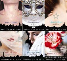 Blue Bloods Series (Blue Bloods; Masquerade; Revelations; Van Alen Legacy; Misguided Angel; Bloody Valentine) Melissa De La Cruz: Books