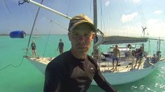 """Sailing Totem and Sailboat Story unite to explore spider caves and ocean holes in Rock Sounds, Eleuthera. The words """"spider hole"""" does not typically describe. Rock Sound, Swings, Sailboat, Spider, Sailing, Ocean, Explore, Blog, Sailing Boat"""