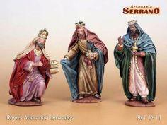 Reyes adorando, II