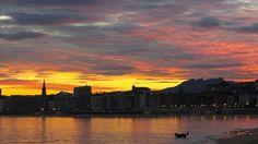 Amanece en San Sebastián