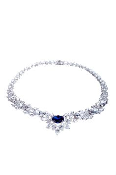 CZ & Created Sapphire Red Carpet Necklace I'm in love with this necklace.