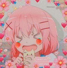 anime icon Manga Anime, Anime Gifs, Manga Girl, Anime Art, Style Anime, Cute Profile Pictures, Anime Profile, Cute Memes, Cute Chibi