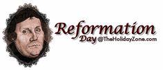 Celebrating Reformation Day at TheHolidayZone.com - Crafts to supplement Martin Luther/Reformation