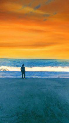オレンジ。#海 #海辺 #さよなら #オレンジ #everfilter