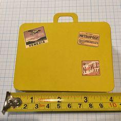 Μπομπονιέρα βαλίτσα Suitcase favor box Favor Boxes, 9 And 10, Plastic Cutting Board, Suitcase, Favour Boxes, Suitcases