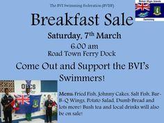 Today MARCH 7TH | Breakfast Sale @ Road Town Ferry Dock #RoadTown #Tortola #BVI | Starts @ 6AM