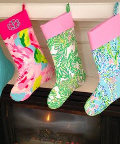 Custom Made Lilly Pulitzer Christmas by ShopThePinkPineapple