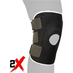 11458c0049 Fitness Maniac Knee Support, Open-Patella Brace for Arthritis, Joint Pain  Relief,