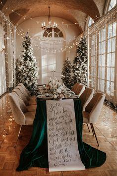 Romantic Winter Wonderland Wedding Inspiration
