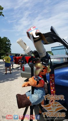 Solar Eclipse 2017 blocks Tigger has a GREAT time in Sullivan, Missouri at the Fraternal Order of Eagles Solar Eclipse 2017, More Photos, Eagles, Tigger, Missouri, Fans, Moon, Entertainment, Friends