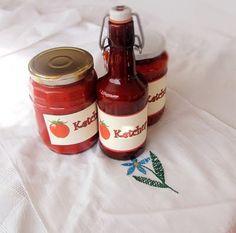 Preparare Ketchup de casa, reteta pentru iarna 7 Ketchup, Hot Sauce Bottles, Recipes, Food, Celery, Jelly, Preserves, Recipies, Essen