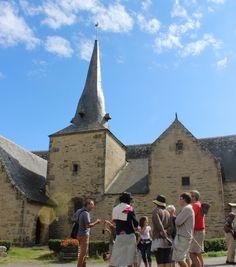 Village de Lantiern à Arzal dans le Morbihan (Bretagne)