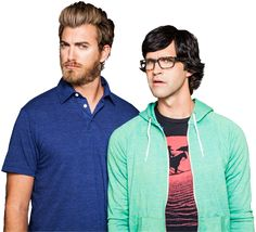 These guys are keepers...my 10 year old discovered them but I am pretty amused myself! Rhett and Link, you rock!