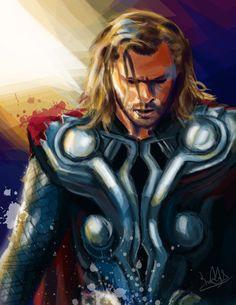 Thor by Eriya0.deviantart.com on @deviantART