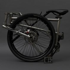 A Canadian designer claims to have created the world's smallest folding bike.