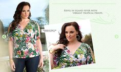 I love this top! This would be perfect for a vacation or for a late afternoon casual outdoor party.