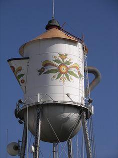 Creative water towers (street art, great, amazing, beautiful, cool, interesting, creative)