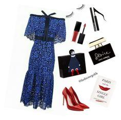 """Paris desire ⚘"" by lightbird on Polyvore featuring Alexander McQueen, Lulu Guinness, Benefit, Smashbox, Dolce&Gabbana, Forever 21 and Kate Spade"