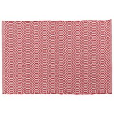 Now Designs Bazaar Kitchen Mat Red - NOD18184