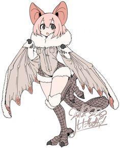 Garota com orelhas e asas de morcego, cauda de castor e pés de coruja não se vê todo dia - Damn Wyvern Gems