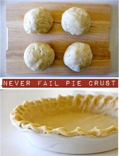 Never Fail Pie Crust by MommaJones