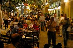 This picture of Plaka, in Athen's, Greece, reminds me of June 2007 when my husband and I visited the area.  It was my favorite international trip - beautiful architechture/historical sites, great food, relaxing...ouzo anyone?