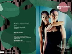 OSB Branding - Double page of the brochure for the 2012 season.