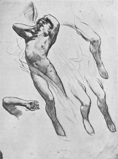 Speed_Harold_Study_for_the_Figure_of_Love_in_-Love_Leaving_Psyche-