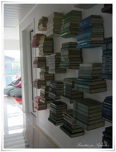 Kirjat Bookcase, Shelves, Interiors, Home Decor, Shelving, Bookcases, Shelving Units, Interieur, Interior