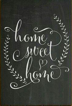 Home Sweet Home ❤️ chalkboard art Chalkboard Writing, Kitchen Chalkboard, Chalkboard Print, Chalkboard Lettering, Christmas Chalkboard, Chalkboard Designs, Chalkboard Ideas, Summer Chalkboard, Blackboard Art