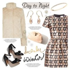 """Day to Night: Holiday Party"" by littlehjewelry ❤ liked on Polyvore featuring RED Valentino, Oasis, contestentry, HolidayParty, pearljewelry and littlehjewelry"