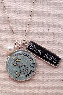 Show Hope necklace