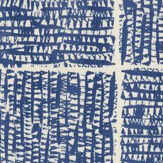 Zanzibar in Baltic | Peter Fasano, LTD #textiles #fabric #hemp #blue