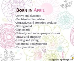 birthday month meme Born in April What Your Birth Month Says About You What Is Birthday, Birthday Quotes For Me, Birthday Month, Birthday Wishes, Birthday Cards, Happy Birthday, Birthday Greetings, Birth Month Personality, Birthday Personality