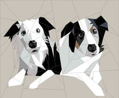Quilt Art Designs: Friday Round-Up Farm Quilt, Dog Quilts, Animal Quilts, Scrappy Quilts, Paper Pieced Quilt Patterns, Quilt Block Patterns, Quilt Blocks, Foundation Paper Piecing, Dog Pattern