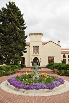 Springville Museum of Art, one of the oldest art museum in the USA. (Photo by Rebekah Westover)