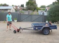 Picture of How to Make a Simple Trailer Dolly Adapter for a Hand Trolley